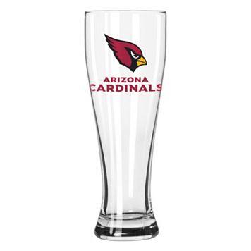 Boelter Arizona Cardinals Clear Pilsner Glass