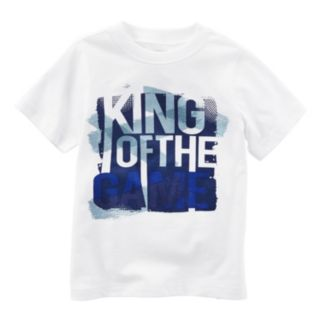"""Boys 4-8 Carter's """"King of the Game"""" Graphic Tee"""