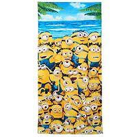 Minions Tidal Minions Beach Towel