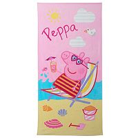 Peppa Pig Cooling Off Beach Towels by Entertainment One