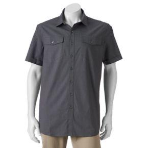 Big & Tall Apt. 9® Classic-Fit Stretch Button-Down Shirt