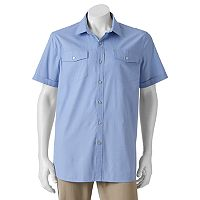 Big & Tall Apt. 9® Classic-Fit Stretch Button-Down Shirt