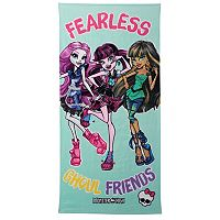 Mattel Monster High Fearless Friends Beach Towel