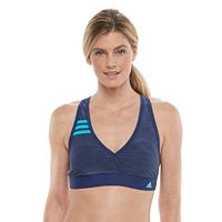 Women's adidas Light as Heather Surplice Bikini Top