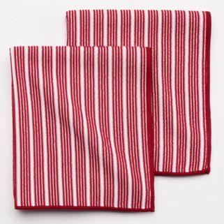 Food Network™ Microfiber Striped Kitchen Towel 2-pk.
