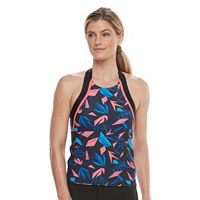 Women's adidas Tropical High-Neck Halterkini Top