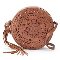 Mudd® Graca Perforated Crossbody Bag