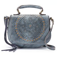 Mudd® Lina Perforated Crossbody Bag