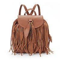 Mudd® Falina Fringe Backpack
