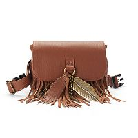 Mudd® Dores Fringe Belt Bag