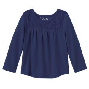 Baby Girl Jumping Beans® Lace-Yoke Tunic