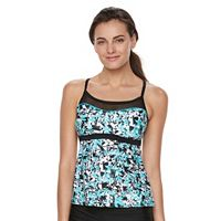 Women's adidas Don't Petal For Less Mesh Tankini