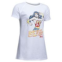 Girls 7-16 Under Armour DC Comics Wonder Woman Graphic Tee