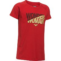 Girls 7-16 DC Comics Wonder Woman Tee by Under Armour