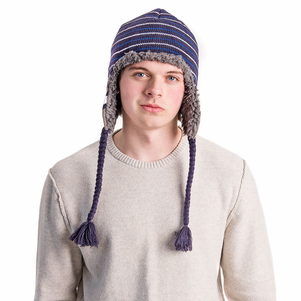Men's MUK LUKS Striped Trapper Hat