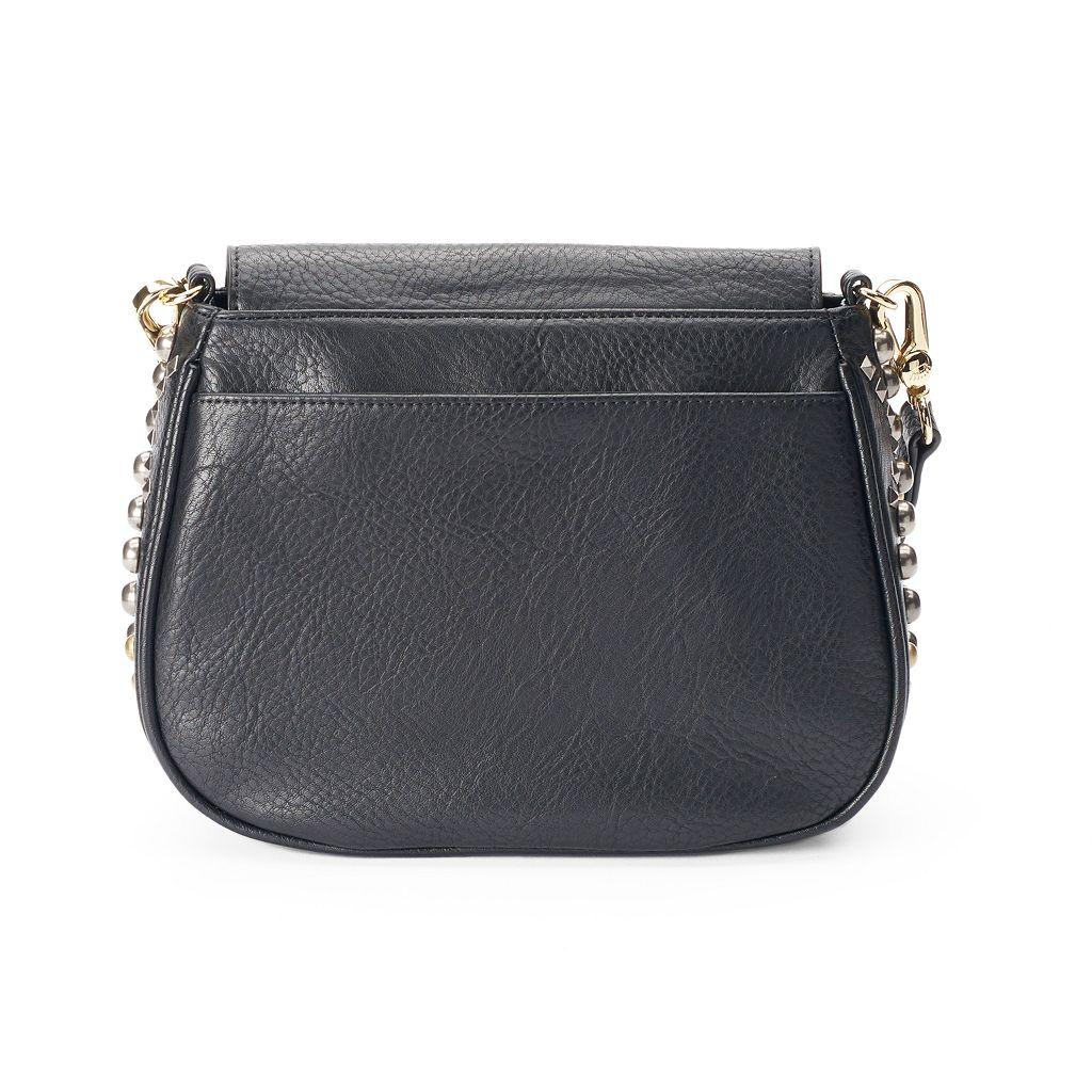 Juicy Couture Studded Crossbody Saddle Bag
