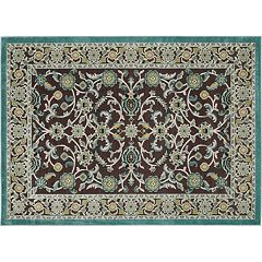 KHL Rugs Cambridge Nani Framed Floral Rug