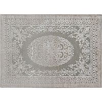 KHL Rugs Cambridge Tivona Framed Medallion Rug