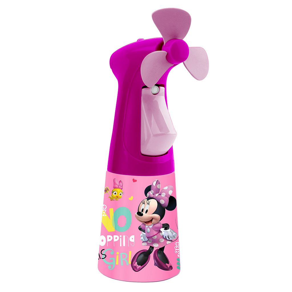 O2COOL Disney's Minnie Mouse Misting Fan