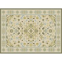 KHL Rugs Cambridge Paulina Framed Floral Rug