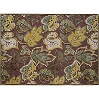 KHL Rugs Cambridge Aubrey Leaf Rug