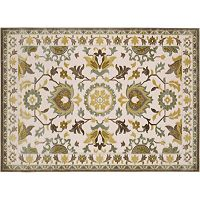 KHL Rugs Cambridge Catalina Framed Floral Rug