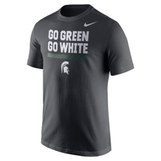 Men's Nike Michigan State Spartans Local Verbiage Tee