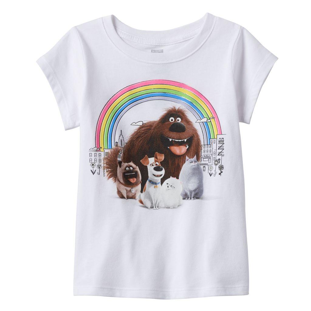 Girls 4-6x The Secret Life of Pets Rainbow Graphic Tee