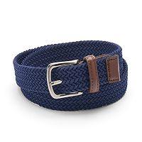 Boys Chaps Braided Elastic Belt