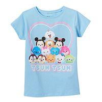 Disney's Tsum Tsum Girls 4-7 Olaf, Winnie the Pooh & Stitch Graphic Tee