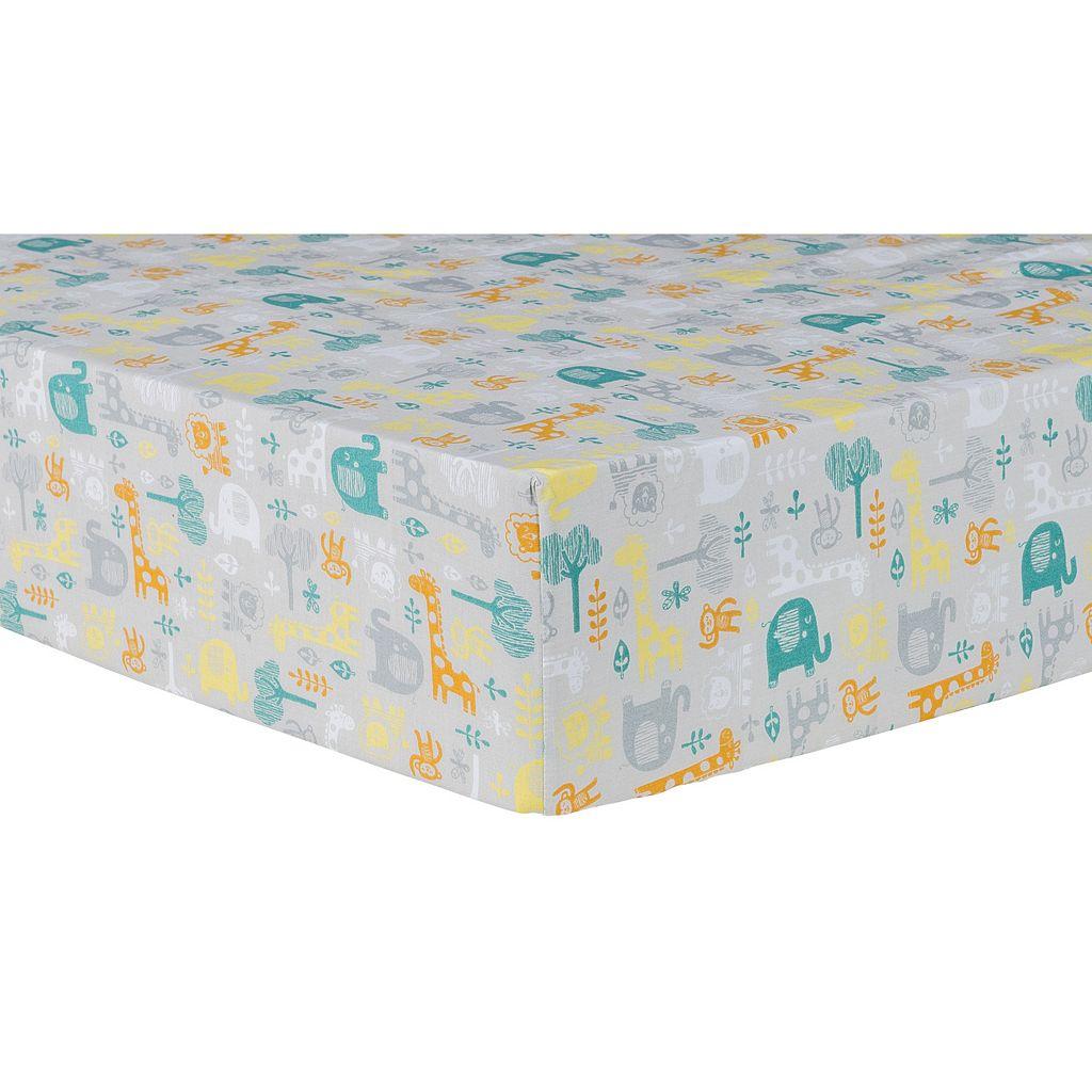 Trend Lab Lullaby Jungle 6-pc. Crib Bedding Set