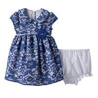 Baby Girl Marmellata Classics Glitter Lace Dress