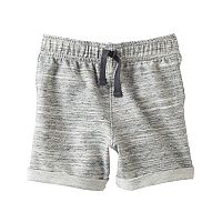 Baby Boy Jumping Beans® Space-Dye French Terry Shorts