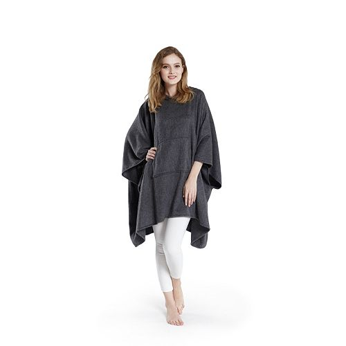 Madison Park Signature Luxury Cashmere Poncho