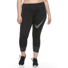 Plus Size Nike Dri-FIT Essential Twist Crop Running Tights