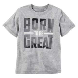 "Boys 4-8 Carter's ""Born to be Great"" Graphic Tee"