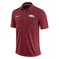 Men's Nike Arkansas Razorbacks Striped Sideline Polo