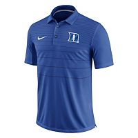 Men's Nike Duke Blue Devils Striped Sideline Polo