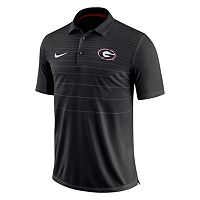 Men's Nike Georgia Bulldogs Striped Sideline Polo