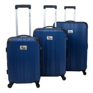 Chariot Travelware Monet Burgundy 3-Piece Hardside Spinner Luggage Set