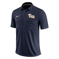 Men's Nike Pitt Panthers Striped Sideline Polo