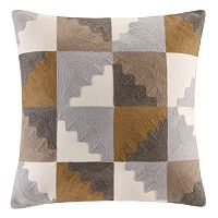 INK+IVY Neve Key Embroidered Throw Pillow