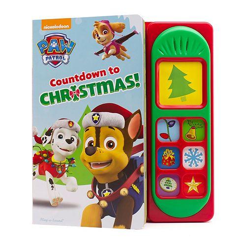 Paw Patrol Christmas.Little Sound Book Paw Patrol Christmas By Pi Kids