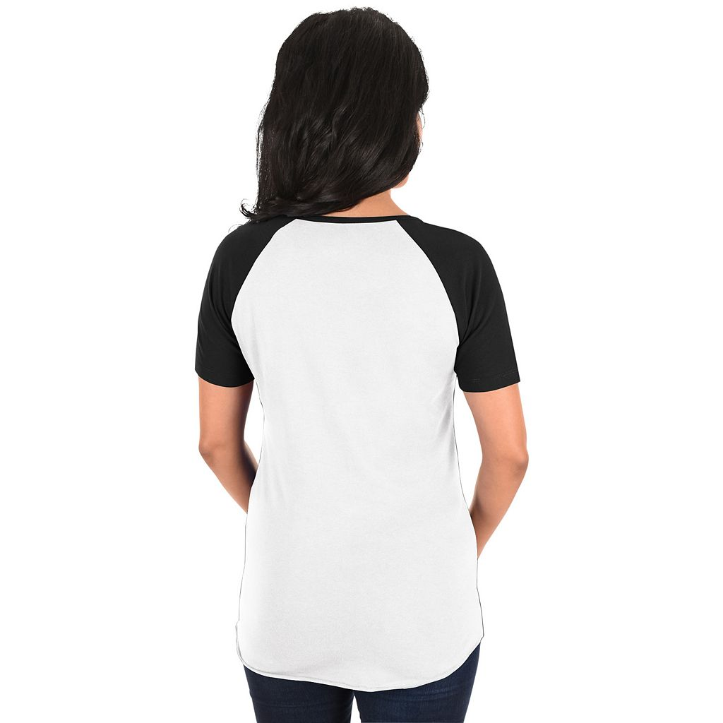 Women's Majestic Chicago White Sox Burnout Tee
