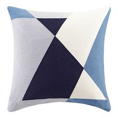 INK+IVY Aero Abstract Embroidered Throw Pillow