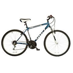 Men's Titan Pathfinder 18-Speed Suspension Mountain Bike