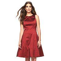 Women's Ronni Nicole Taffeta Fit & Flare Dress
