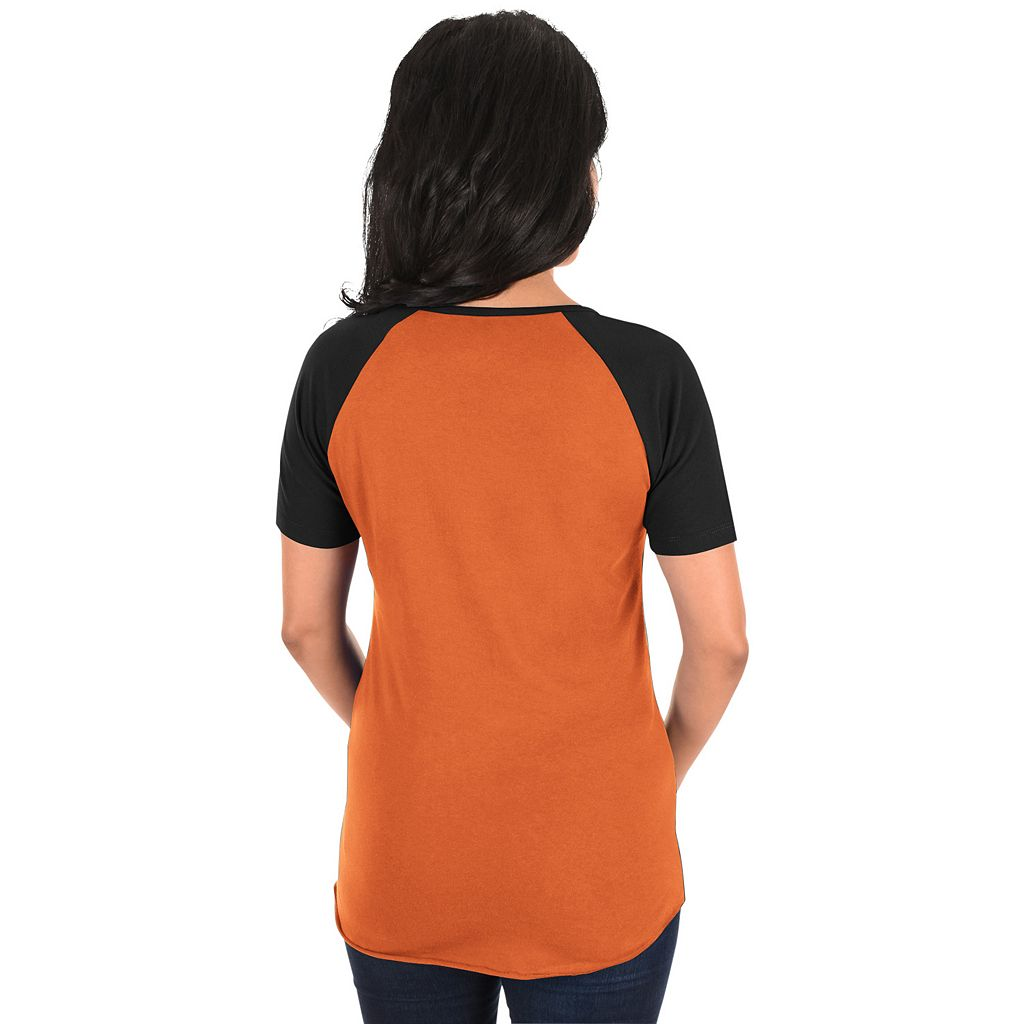 Women's Majestic Baltimore Orioles Burnout Tee