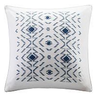 INK+IVY Cybil Embroidered Throw Pillow