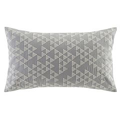 INK+IVY Thea Embroidered Oblong Throw Pillow